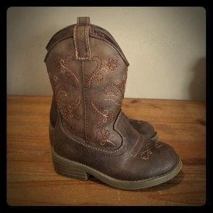 Cat and Jack Cowgirl Boots